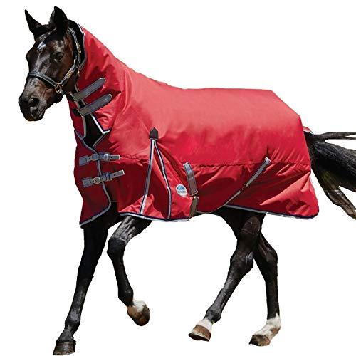 Coperta impermeabile per cavalli, Comifitec, Weatherbeeta, Red/Silver/Navy