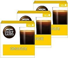 Nescafé Dolce Gusto Café Crema Grande koffie cups - 3 doosjes met 16 capsules