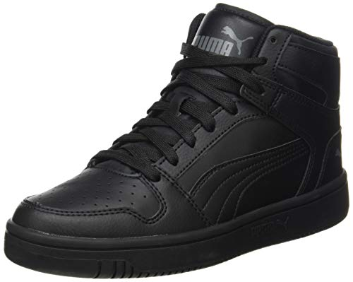 PUMA Unisex Rebound Layup Sl Sneaker, Black Dark Shadow, 45 EU