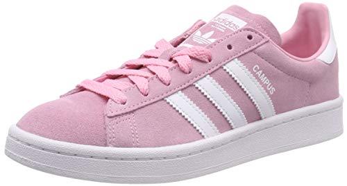 adidas Campus J, Zapatillas de Gimnasia Unisex Niños, Rosa (Light Pink/FTWR White/FTWR White Light Pink/FTWR White/FTWR White), 38 2/3 EU