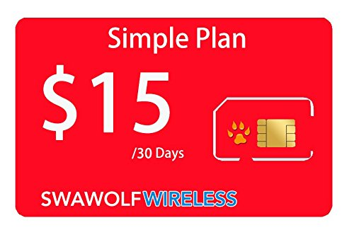 Seawolf Wireless Prepaid SIM Card Simple Plan