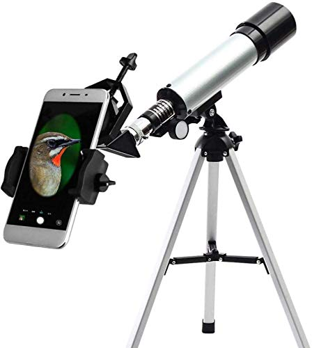 ZHANGYH Telescopio Digital Telescopio astronómico telescopio de Zoom monocular para Exteriores con trípode para Ver Estrellas Lunares