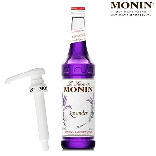 Monin Lavender Syrup 70cl & Monin Pump Set