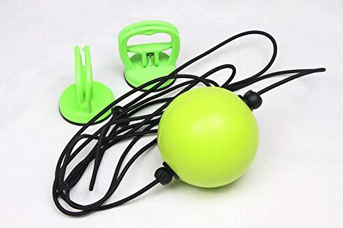Feishibang Fight Ball Reflex Trainer para Entrenamiento de Velocidad de Boxeo de reacción, Bola de perforación Segura de Doble Extremo con ventosas de vacío Fuertes