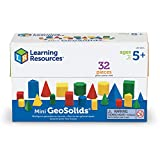 Learning Resources Mini Relational GeoSolids - 32 pieces