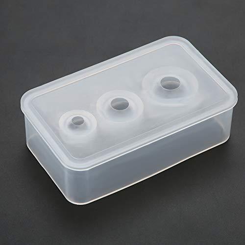 Moldes de silicona para resina Molde para hacer joyas Molde de bolas...