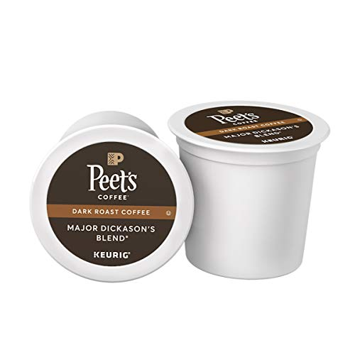 75-Count Peet's Coffee Major Dickason's Blend K-Cups (Dark Roast) -$27.24(22% Off)