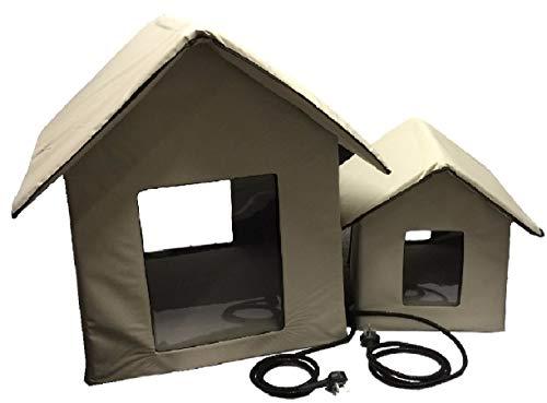 Petnap - Caseta de Mascotas con calefacción para Perro, Gato o Cachorro (tamaño Mediano)