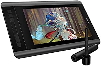 Graphics Monitor XP-PEN Artist 12 11.6 Inch HD IPS Pen Display Drawing Tablet with 8192 Levels Pressure Sensitivity 6 Shortcut Keys and 1 Touch Bar