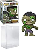 Zombie Hulk #659 Marvel Zombies: Figura de vinilo (incluye funda protectora Ecotek Pop Box)