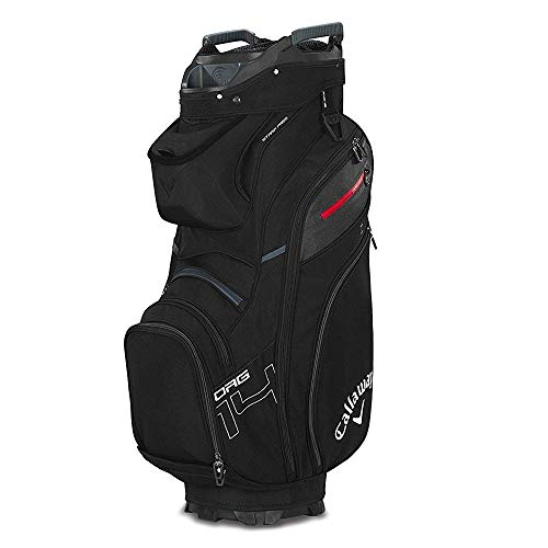 Callaway Golf 2019 Org 14 Cart Bag, Black/Titanium/White