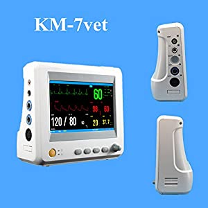 KM-7 Veterinary Mini Monitor for Dogs and Cats 7″