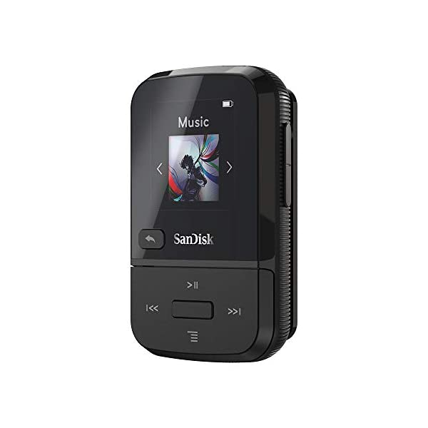 SanDisk Clip Sport Go, LED Screen and FM Radio 4