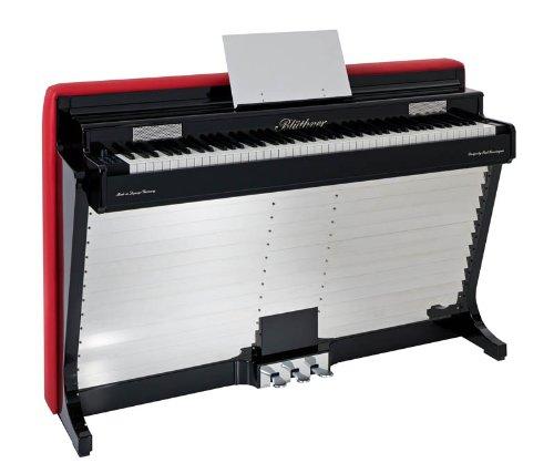 Blüthner Pianette e-Klavier Edelstahl Unterboden (135 Polyphony, MIDI, USB)