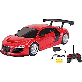 WireScorts Chargebal Racing Car for Kids with Remote Control - Assorted Design & Multi Color