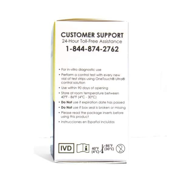 buy  GenUltimate! Blood Glucose Strips 8 Boxes (50 ... Blood Test Strips