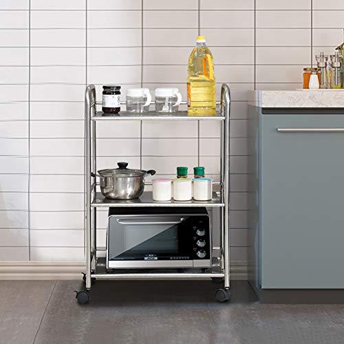 classifica carrello da cucina acciaio