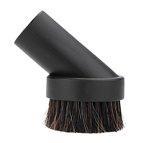 Tongyi Cepillo para Polvo Redondo de 25 mm, Pelo de Caballo, 1,25', Accesorio de Repuesto para aspiradora