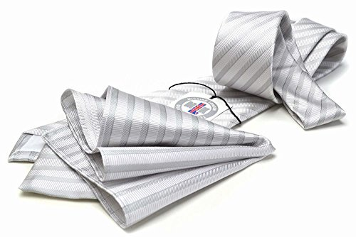 日本製(ミチコロンドン)MICHIKOLONDON礼装ネクタイポケットチーフ2点セットM-CPN-176