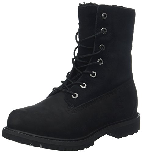 Timberland Damen Authentic Teddy Fleece Chukka Boots, Schwarz (Black), 36 EU
