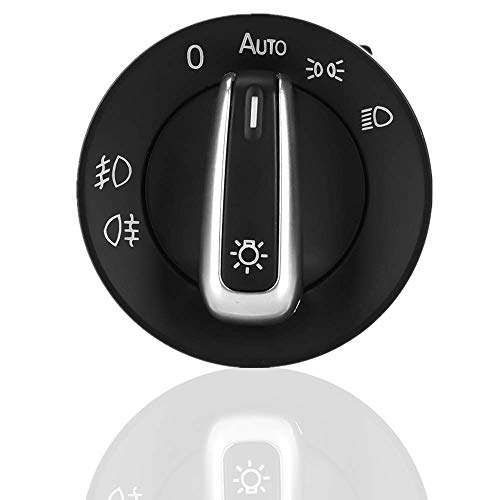 Interruptor de luces delanteras 5ND941431B Control de interruptor de luces antiniebla para faros delanteros de coche para Passat CC Jetta MK5 Golf