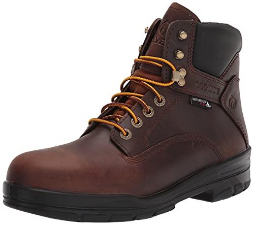 Wolverine Men's DuraShocks SR 6' ST WP Construction Boot, Dark Brown, 13
