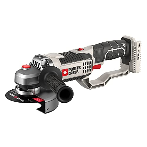 PORTER-CABLE 20V MAX Angle Grinder Tool, 4-1/2-Inch, PCC761B