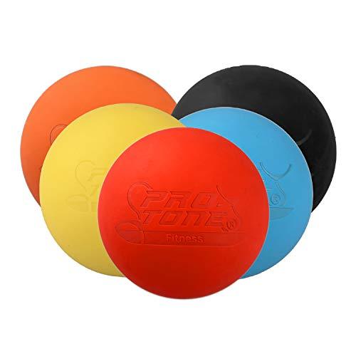PROTONE - Lacrosse Ball/massageball für Triggerpunktmassage Crossfit Physiotherapie - Rot