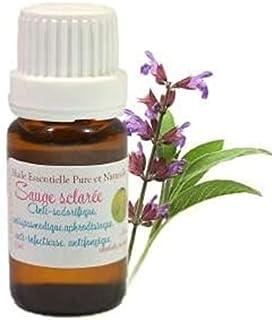 Huile Essentielle HEBBD de SAUGE SCLARÉE (Salvia sclarea) (10ml)