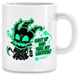 SHUT UP AND TAKE MY LANTERN!! Taza Ceramic Mug Cup