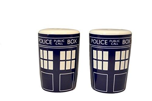 Doctor Who Tardis Salz- und Pfefferstreuer Set