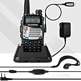 BaoFeng (UV-5R Pro) Ham Radio Handheld Dual Band 2-Way Radio with 1800mAh Battery Ham Radio Walkie Talkie Full Kit with Earpiece and Programming Cable (1 Pack)