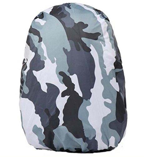 Black Temptation Camouflage Housse de Pluie Sac à Dos ou Trolley Case Housse de Protection étanche, B1