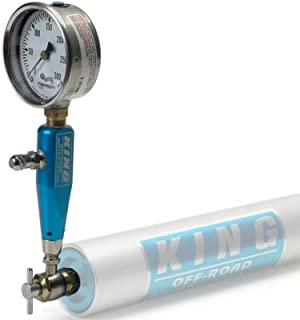 Pacific Customs Pressure Gauge for Fox, King, Bilstein, Or Sway-A-Way Nitrogen Shocks 0 to 300psi