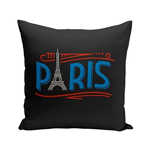 Fabulous Coussin 40x40 cm Paris France Vintage Luxe Style Tour Eiffel