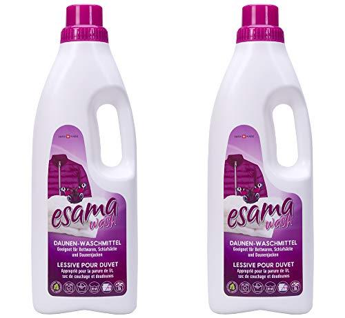Esama wash 2x1L Daunen-Waschmittel