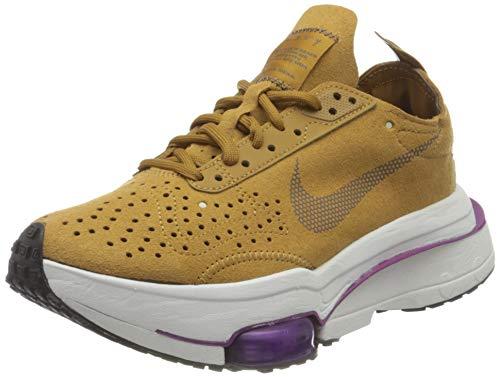 Nike W Air Zoom Type, Zapatillas para Correr Mujer, Wheat Ironstone Red Plum Summit White, 42 EU
