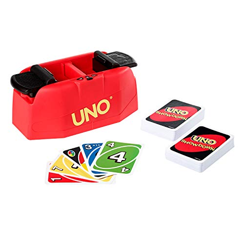Mattel Games UNO Showdown, Juego de Cartas (Mattel GKC04)