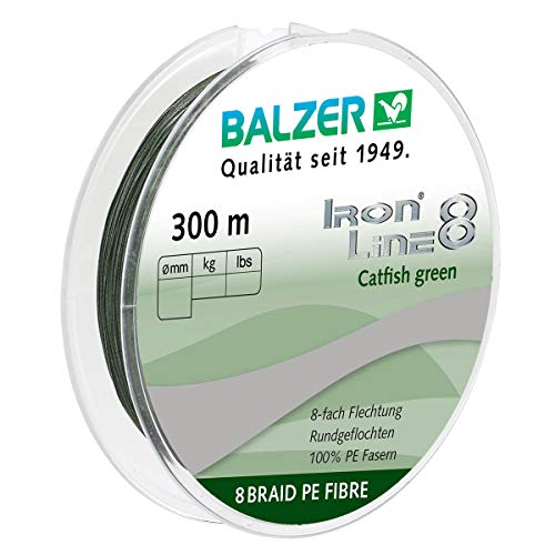 Wallerschnur Balzer IronLine 8 Catfish 0.40mm 300m
