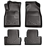 Husky Liners Custom Fit WeatherBeater Molded Front and Second Seat Floor Liner for Select Chevrolet Volt Models (Black) by Husky Liners