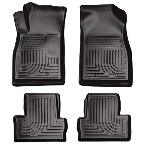 Husky Liners Fits 2011-15 Chevrolet Volt Weatherbeater Front & 2nd Seat Floor Mats
