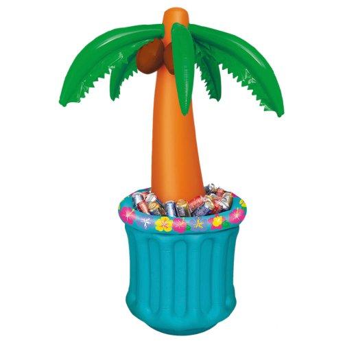 Refroidisseur de boissons gonflable Palmier Tropical Summer