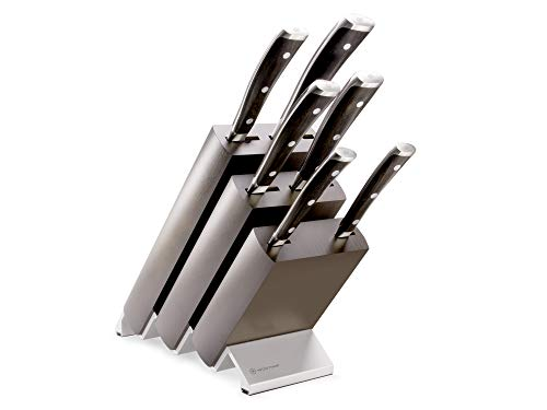 Wüsthof Ikon Con soporte para cuchillos, acero inoxidable