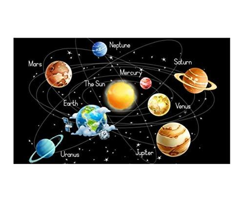 JCYMC Puzzle 1000 Piezas Sistema Solar Planetas Estrellas Madera para Adultos Juegos Juguetes Educativos Jq86Mk