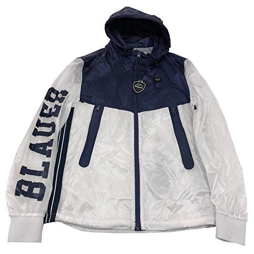 Blauer Giubbotto Uomo Bianco Blu 20SBLUC04120 Bianco S