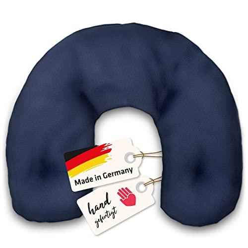 Coussin Chauffant Cervical Naturel en Noyaux de Cerise   Bouillotte Sèche Fabriquée en Allemagne   Excellent pour Douleurs Musculaires Épaules Cou Nuque   À chauffer au Micro-Ondes/Four