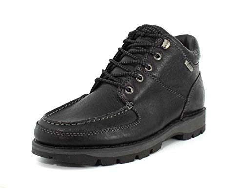 Rockport - Umbwe II Chukka Hommes, 40.5 EU, Black Leather