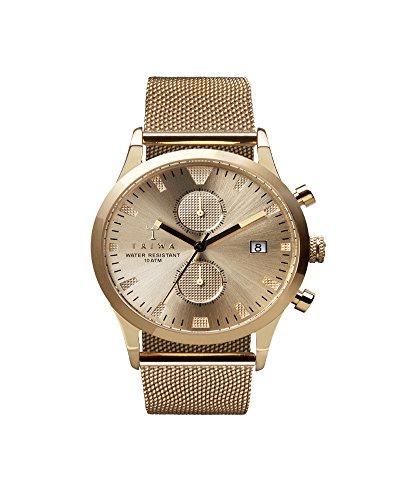 Triwa Herren Chronograph Quarz Uhr mit Edelstahl Armband LCST109-ME021313