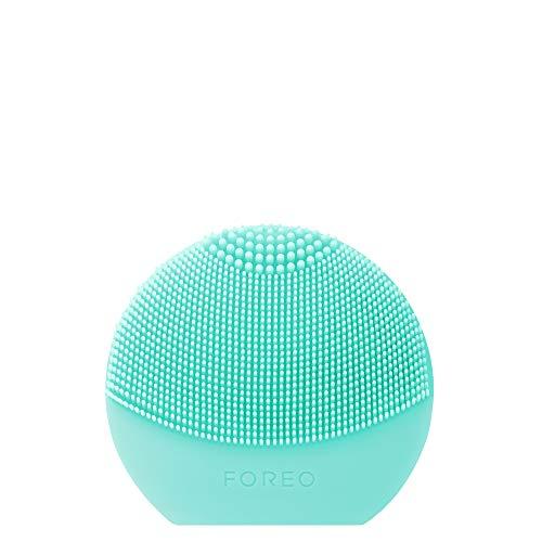 FOREO LUNA Play Plus 2, Dispositivo de limpieza facial para todo tipo de pieles, Minty Cool