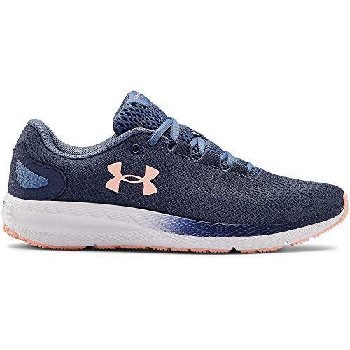 Under Armour Women's Charged Pursuit 2 Running Shoe, Blue Ink (401)/White, 9 M US